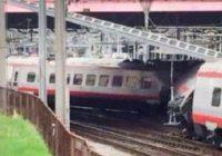Svizzera: deragliato un treno italiano partito da Milano, diversi feriti