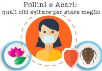 allergie primavera polline polvere cibi da evitare